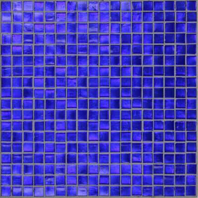 blue, gray glass Mosaic