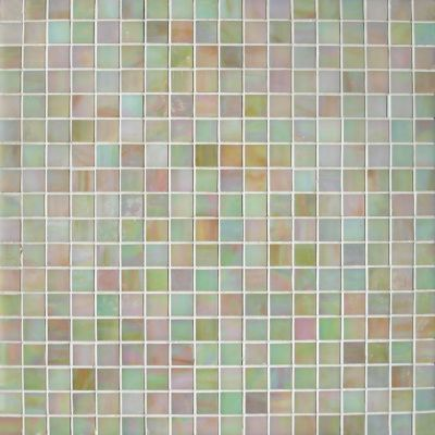 gold, gray, green, tan, white glass Mosaic