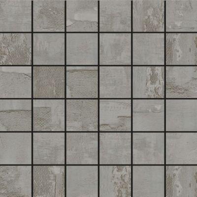 gray porcelain SSF-5021 Jacquard Grey Natural Mosaic by soci