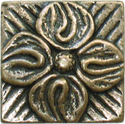 brown metallic SSGB-0429-2 Bronze Metal Deco by soci