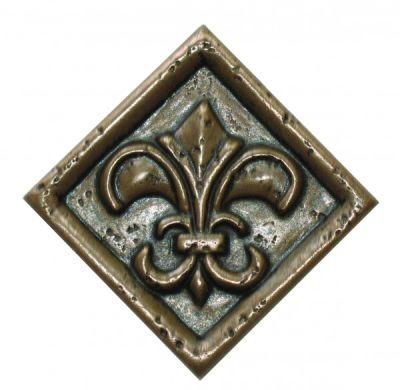 brown metallic SSGR-0352-3 Rust Metal Deco by soci