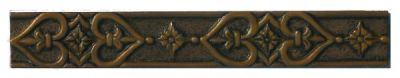 brown metallic SSGR-0365 Rust Metal Listello by soci