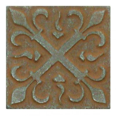 brown metallic SSGR-0394-2 Rust Metal Deco by soci