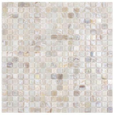 white glass SSJ-101 Libra Glass Mosaic by soci