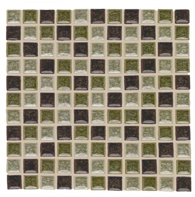 black, brown, gray, green, tan glass SSM-409 Stella Glass Blend by soci