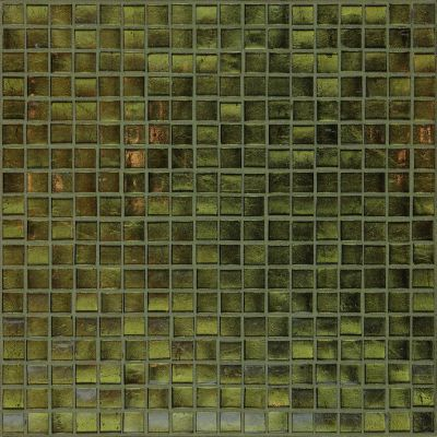 brown, gray, green glass Mosaic