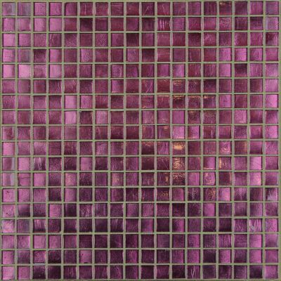 green, pink, purple glass Mosaic