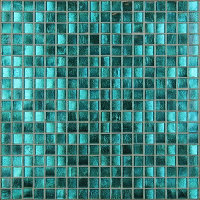 blue, gray, green glass Mosaic