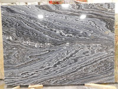 black, blue, gray marble Ash Gray