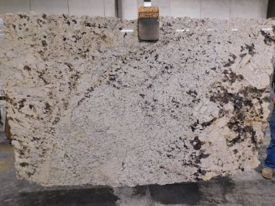 brown, tan, white, beige granite Delicatus White