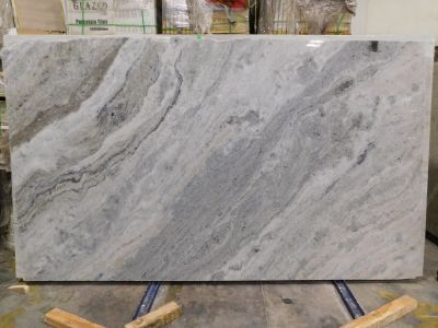 black, gray, white marble River Blue