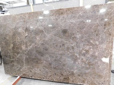 brown, white marble Emperador Dark