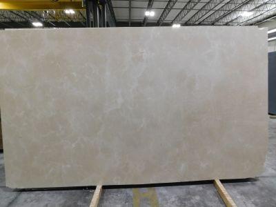 tan, white marble Crema Marfil