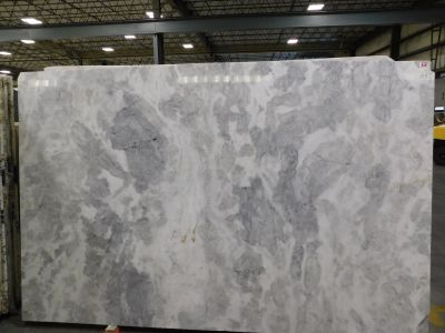 gray, white marble Cloudy White