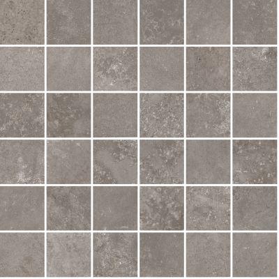 """gray porcelain Aurora Silver Mosaic 12""""X12"""""""