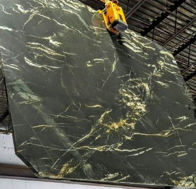 black, brown, gray, green quartzite BELVEDERE