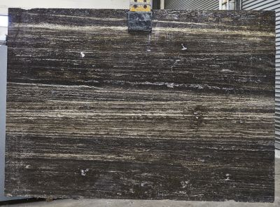 black, brown, gray, tan, white travertine TITANIUM TRAVERTINE
