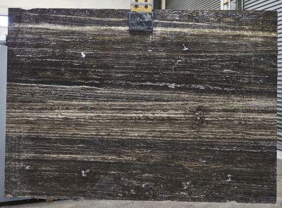 black, brown, gray, white travertine TITANIUM TRAVERTINE
