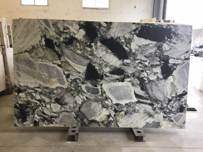 black, gray, tan quartzite WHITE BEAUTY