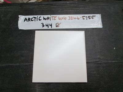 white ceramic Arctic Ice Ceramic Tile by other