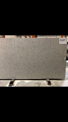 gray, white engineered Silestone LYRA Jumbo Slab by silestone