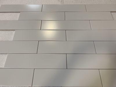 gray, whiteLingotta Matte Ghost by nemo tile