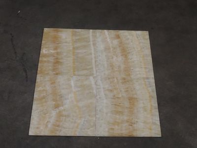 brown, gold, orange, tan, yellow, beige stone 12X12 HONEY ONYX POLISHED