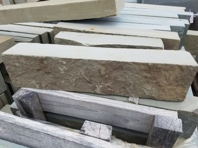 blue, gray, tan bluestone Full Color Bluestone Veneer