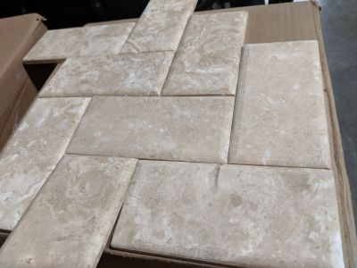 tan limestone Desert Cream Imperial by florida tile