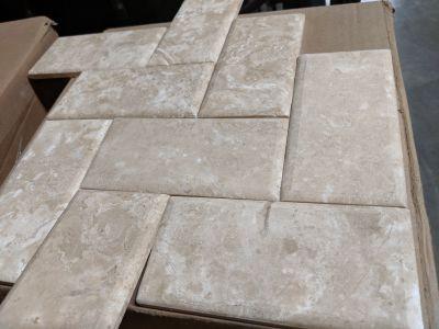 tan limestone Desert Cream Imperial by florida tile