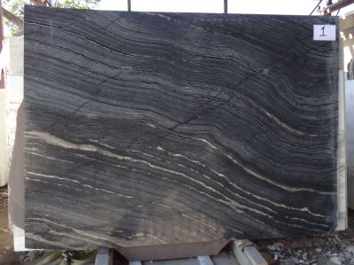 black, gray, tan, white marble Nocturne Black