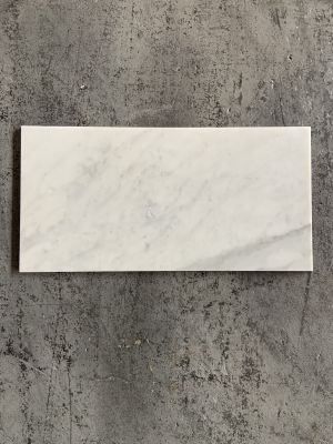 "gray marble Carrara 12"" x 24"" Honed by stonebridge"