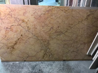 orange, yellow marble Giallo Reale