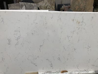 gray, white quartz Fairy White by q premium natural quartz by msi