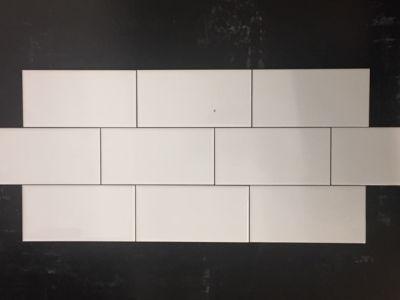 white ceramic White 3x6 Glossy