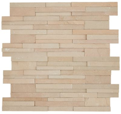 tan natural stone S319 Stacked Stone by daltile