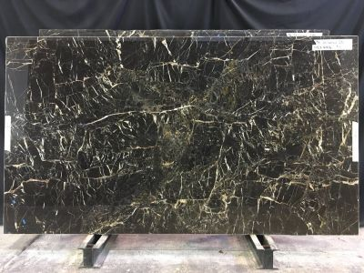 black, brown, gold marble St.laurent