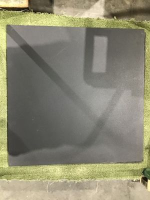 "black porcelain 24""x24"" Matte Black by galileo ceramiche"