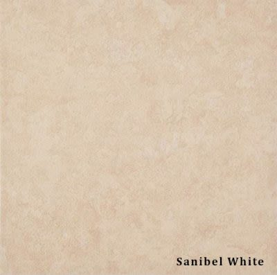 tan, beige porcelain Sanibel White Stone Look by daltile