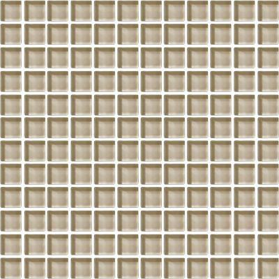 brown, tan, white glass Tango Tan Color Wave by daltile