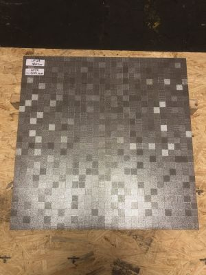 gray porcelain Metal Squares by mytile