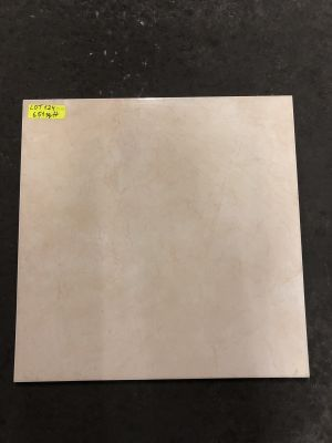 beige porcelain Colossal Marfil by mytile