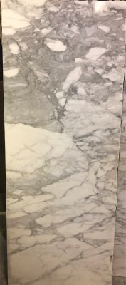 white marble Calacatta Veined
