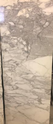 white marble Calacatta Veined
