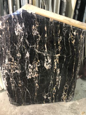 black marble Port'oro Black and Gold