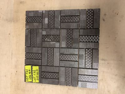 gray porcelain Urban Mosaic by mytile