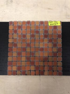 red glass Tumbled Red Mix by mytile