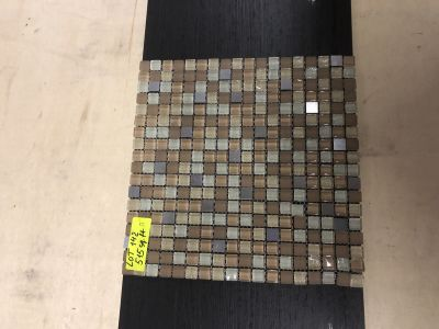 beige glass Galaxy square beige by mytile