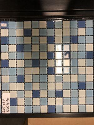 blue glass Graduation Mix Blue #5 by mytile