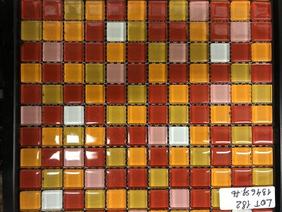 red glass Graduation Mix Red #2 by mytile